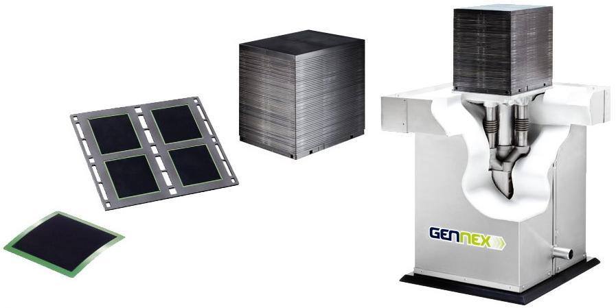 Gennex Brennstoffzellenmodul - Bild: CFCL