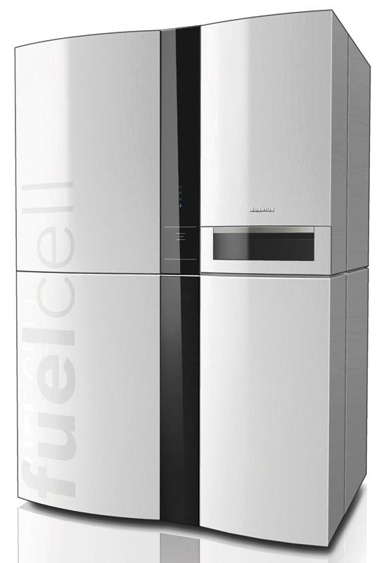 Brennstoffzellen-BHKW Logapower FC10 - Bild: Buderus