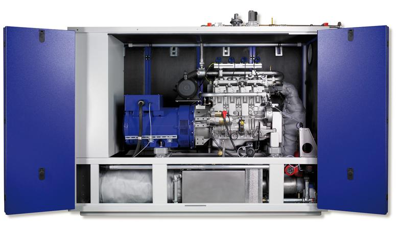 Senergino Biogas-BHKW - Bild: Senergie
