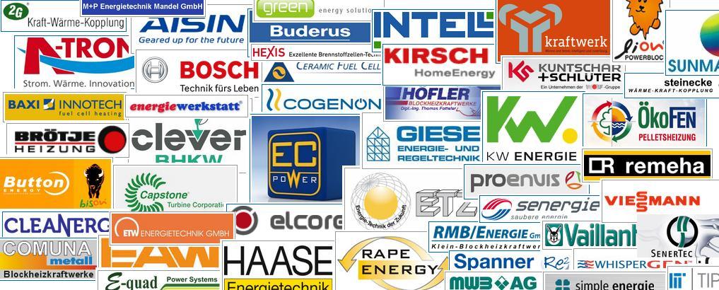 BHKW Anbieter Verzeichnis - Zusammenstellung: BHKW-Prinz