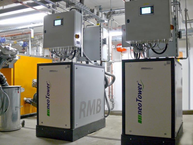 Zwei neoTower 20.0 im Museum für Naturkunde in Münster - Bild: RMB/Energie